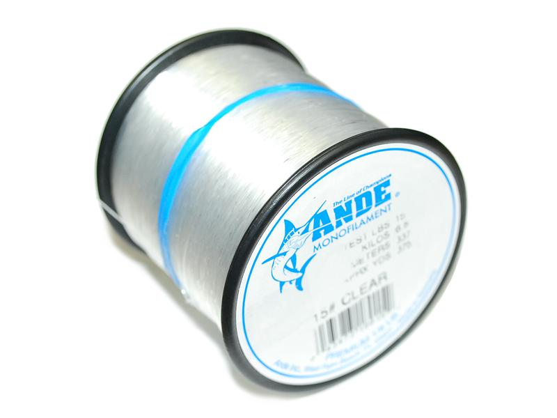 Ande premium clear monofilament hanapaa for Ande fishing line